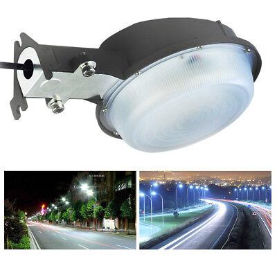 Outdoor 75 Watt LED Barn Yard Street Security Light Dusk to Dawn 400w Equivalent