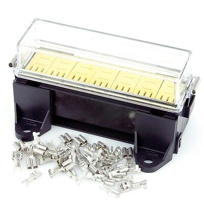 7 Way Micro Relay Box 130mm