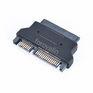 High Quality SATA 22 Pin Male to Hard Drive Slimline Micro SATA 16 pin Adapter
