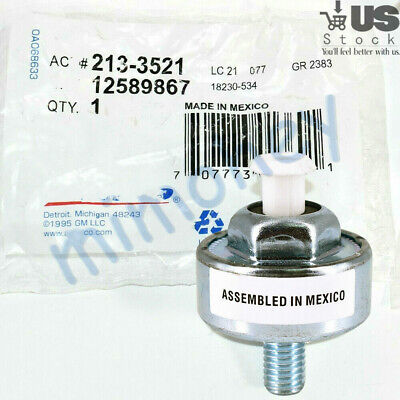OEM 213 3521 12589867 For  Chevy Silverado C Ignition Knock Sensor