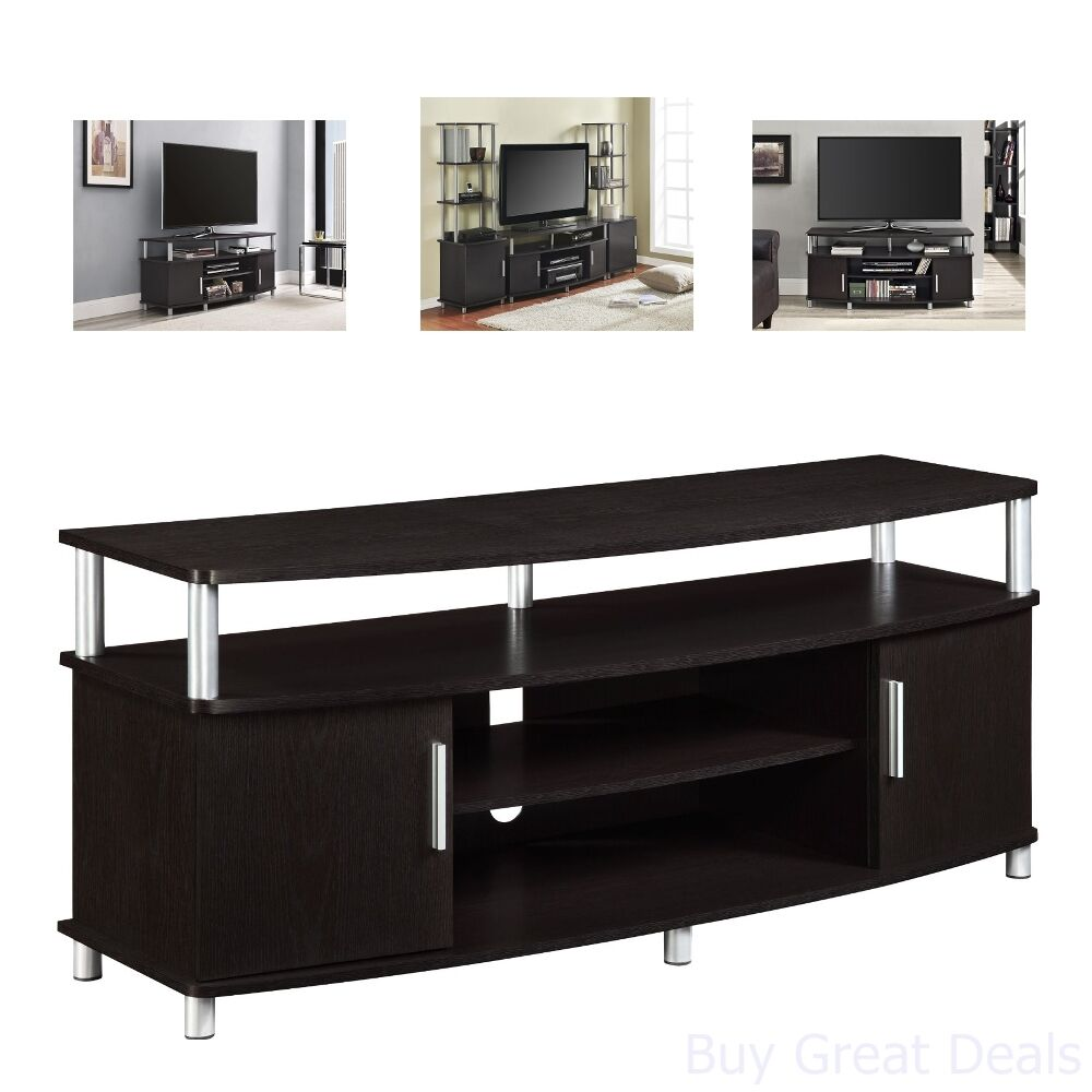 Details about Living Room TV Stand Gaming Room Table Drawers Storage For  Xbox or Playstation