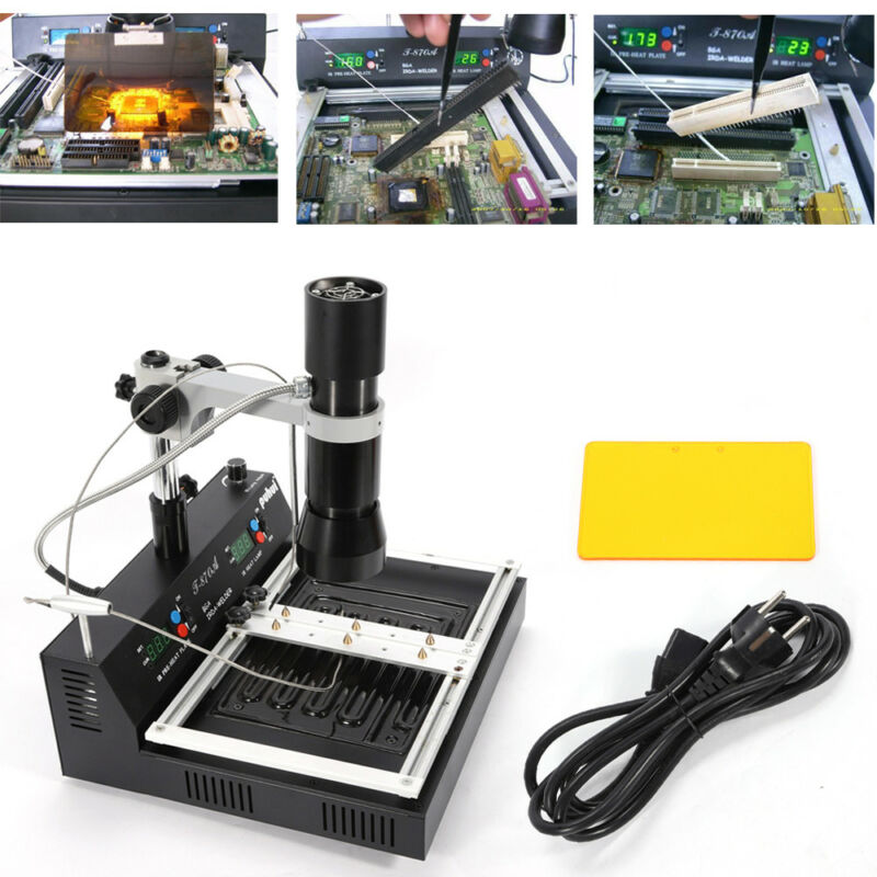 T870A BGA IR Irda Welder Infrared Heating Soldering & Rework Stations US plug