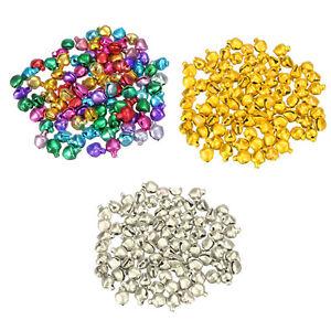 Popular-100Pcs-Loose-Beads-Mini-Jingle-Bells-Christmas-Decoration-DIY-Crafts-CN