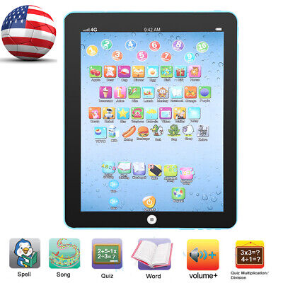 English Learning Pad Fun Kids Tablet with 8 Toddler Learning Games by Kids - Games With Babies