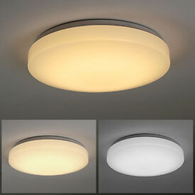 NEW IN BOX ULTRA BRIGHT 3 MODE LARGE LED CEILING LIGHT RRP £30 LEICESTER