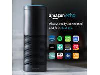 Amazon Echo Multimedia Speaker with Alexa Voice Control - Black