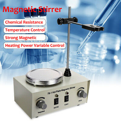 Magnetic Stirrer Electric Hot Plate Magnetic Stirrer Mixer Stirring Lab 1000ml
