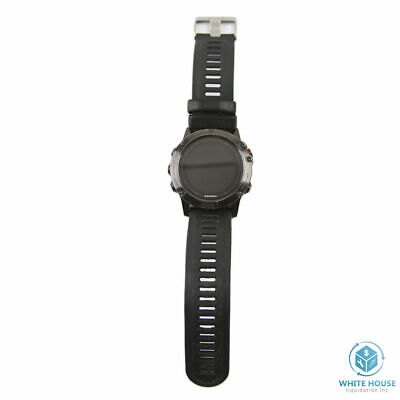 Garmin Fenix 5X Slate Gray Sapphire with Black Band GPS Multisport ONLY WATCH