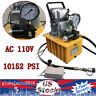 110V 70MPa Electric Driven Hydraulic Pump 10000PSI Pedal Solenoid valve Control