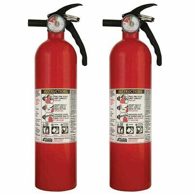 Fire Extinguisher Abc Home Car W Bracket Mount Multiple Use Kidde 3.9 Lb 2 Pack