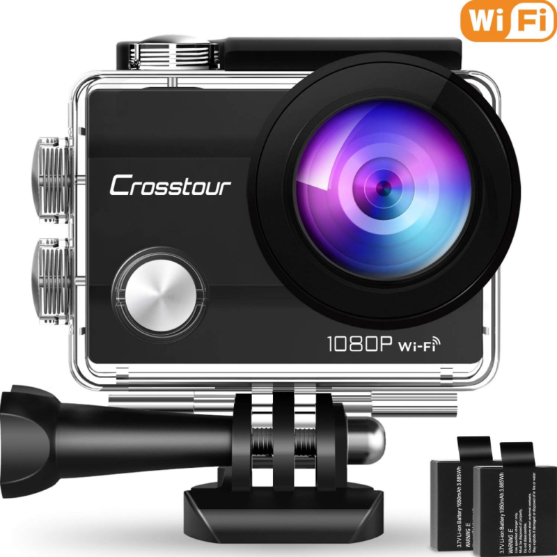Action Rangefinder Cameras Camera 1080P Full HD Wi-Fi 12MP W
