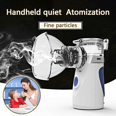 Portable Ultrasonic Nebulize Inhaler Machine Adult Kids Handheld Usbbattary