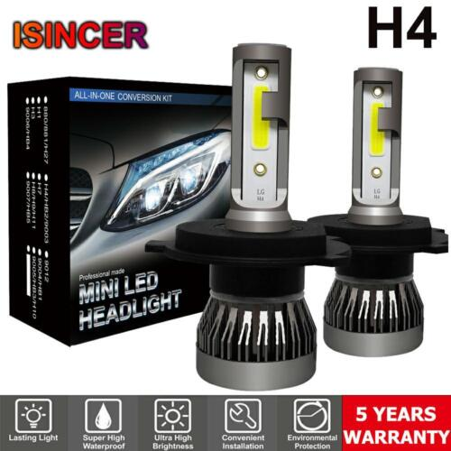 H4 9003 1500W 225000LM COB LED Conversion Headlight Bulbs Kit Hi//Low Beam 6000K