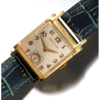 Vintage Hamilton Grade 982 Watch |19-Jewel Manual Wind CA1940s