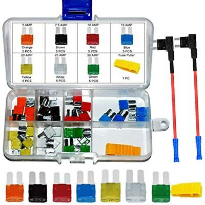 Micro2 Atr Automotive Fuse Assortment 35 Pcs Add-a-circuit Tap Adapters For Rv