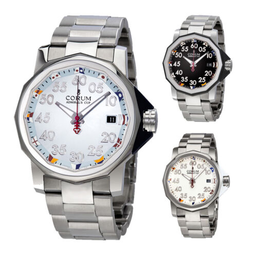 Corum Admiral's Cup Automatic Mens Watch – Choose color - watch picture 1