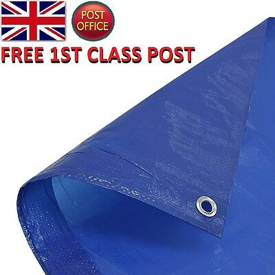 Tarpaulin Waterproof Heavy Duty Strong camping Cover Ground Sheet  Tarp