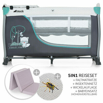 Hauck Baby Kinder Reisebett Sleep'n Play Center II mit Matratze & Wickelauflage