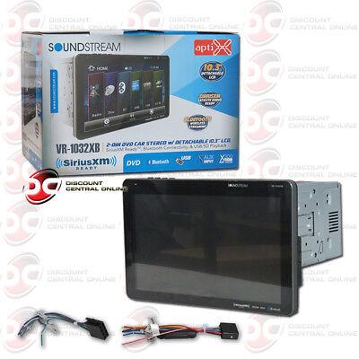 """SOUNDSTREAM VR-1032XB CAR 2-DIN 10.3"""" CD DVD USB BLUETOOTH SIRIUSXM READY STEREO"""