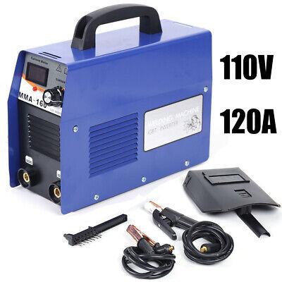 Mini Welding Machine Dc Electric Inverter Arc Mma Stick Welder 110v 20a-200a Us