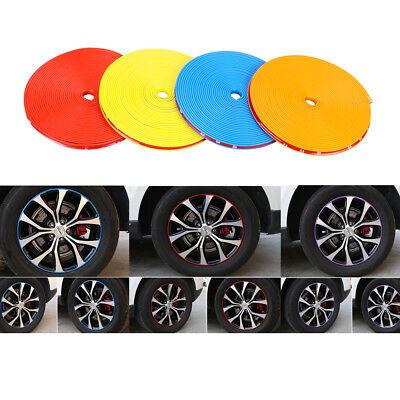 Auto Radnabe Felgenband Dekoration Garde Kreis KFZ Kollisionsschutz Viele Farbe