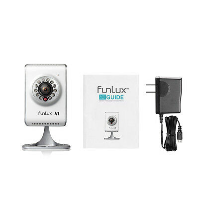 Funlux® 1280 * 720p HD Wireless IP Network Two-Way Audio Home Security Camera