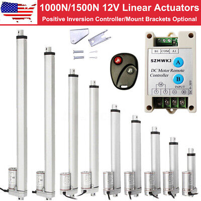12v Linear Actuator Heavy Duty Electric Dc Motor For Auto Medical Lift Door Open