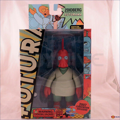 Futurama Mating Season Dr. Zoidberg a SDCC 2007 exclusive figure made by Toynami