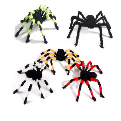 30cm-2m Plush Spider Halloween Decoration Haunted House Prop Indoor - Halloween Decoration Indoor