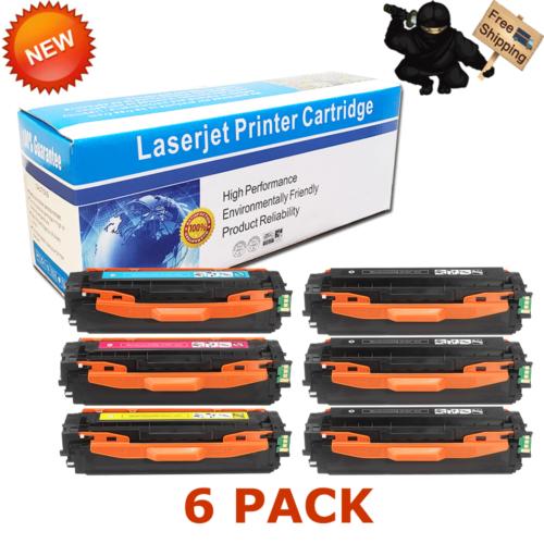 5-Pack Toner Set for Samsung C1860FW C1810W CLP-415NW CLX-4195FW CLT-K504S 504S