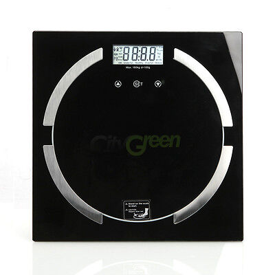 Digital Bathroom Scale Body Fat Hydration Muscle Weight Scale 180kg / 396lbs on Rummage