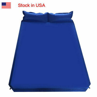 Pad Inflatable Bed Sleeping Mattress 180x60 cm Self Inflating Camping Roll Mat