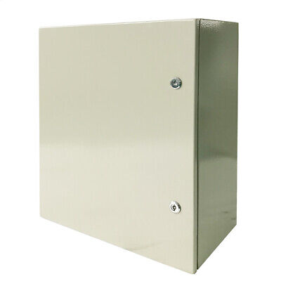 24 X 24 X 12in Carbon Steel Electrical Enclosure Cabinet 16 Gauge Ip65