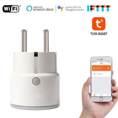 Wireless Wifi Steckdose Smart Home EU Socket für Alexa Echo Google Home Tuya APP