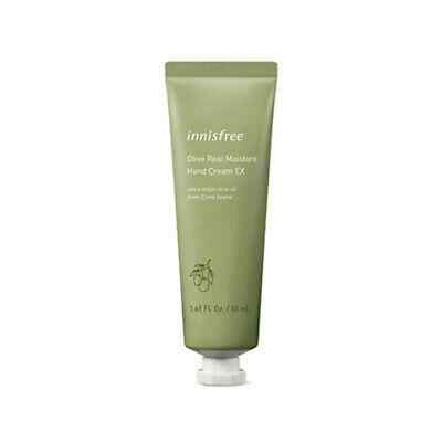 [INNISFREE] Olive Real Moisture Hand Cream EX - 50ml / Free Gift
