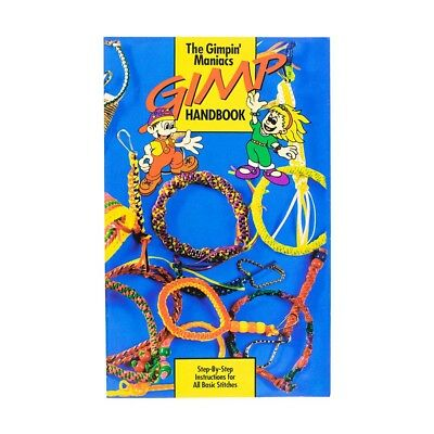 "Plastic Lacing Cord Project Book ""The Gimpin' Maniacs Gimp Handbook"" Illustrated - Plastic Lacing"