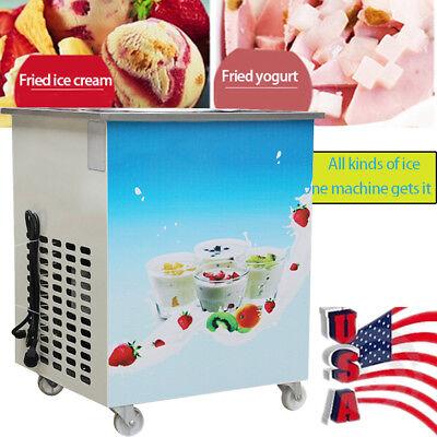 Softhard Ice Cream Roll Fried Ice Cream Machine Milk Yogurt Mud Ice Cream Maker