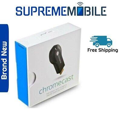 Google Chromecast - 1st Generation H2G2-42 - Media Streaming Device - Brand New