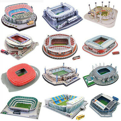 Football Club 3D Stadium Model Jigsaw Puzzle - Man Utd Liverpool Arsenal & More