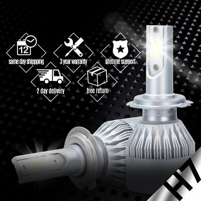 XENTEC LED HID Headlight kit H7 White for Mercedes-Benz SLK55 AMG 2005-2016