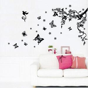 Wall art stickers home decor ebay flower wall art stickers gumiabroncs Choice Image