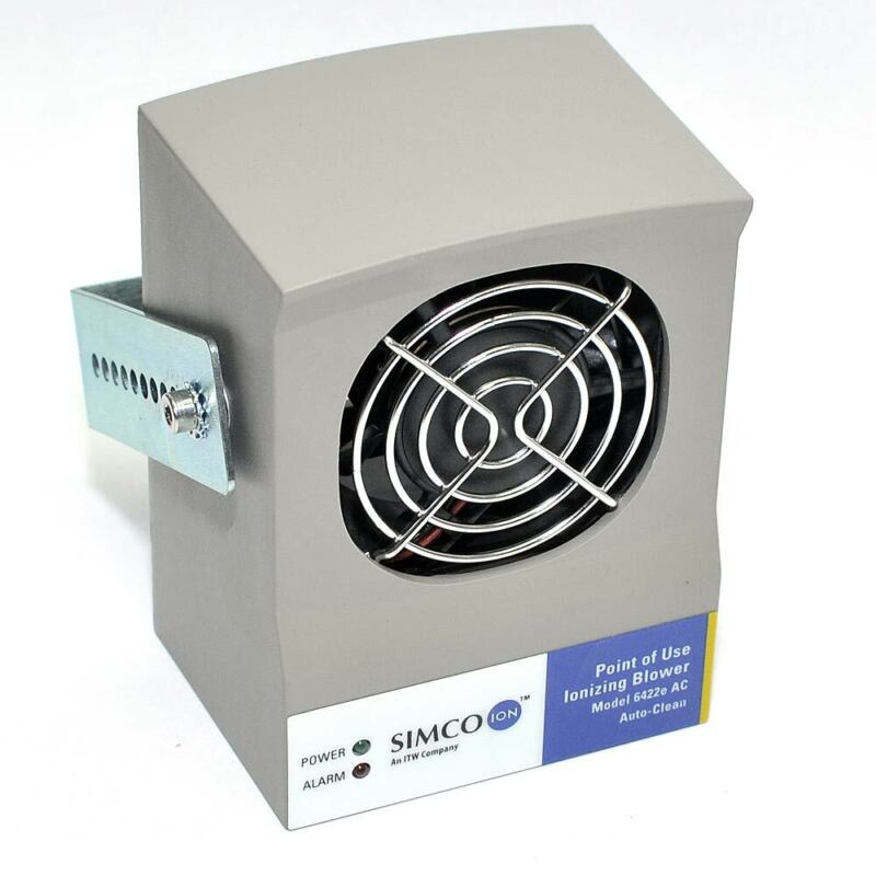 Simco 6422e-AC Point of Use Ionizing Blower with Mounting Hardware Self-Cleaning