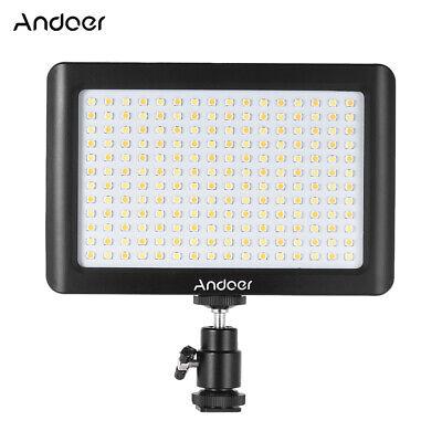 Andoer Dimmable Studio Video LED Light Panel Lamp for DSLR Camera Photography