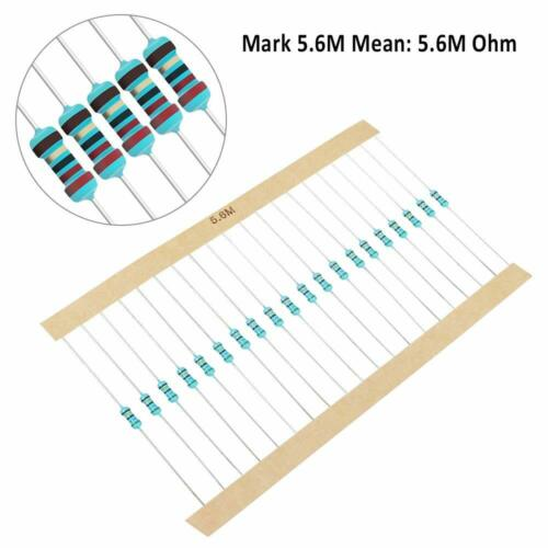 10 PCS 1/4w(0.25 watt) 1% metal film resistors Over200 Various Value YOU CHOOSE