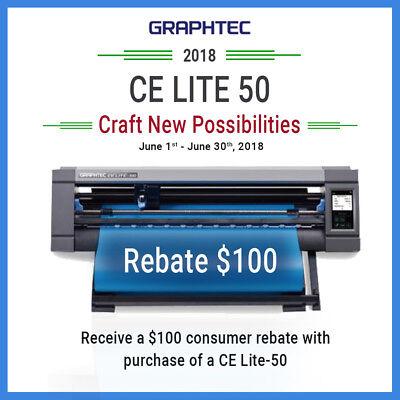 Graphtec Ce Lite-50 20 Inch Desktop Vinyl Cutter