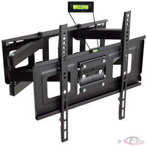 PLASMA-LCD-LED-3D-TV-TFT-WALL-BRACKET-MOUNT-TILT-AND-SWIVEL-VESA-400x400-32-55
