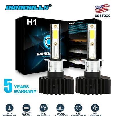 H1 LED Headlight Bulb Kit 2200W 330000LM High Beam Fog Light