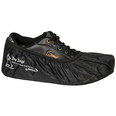 Ebonite Dry Dogs Black Bowling Shoe Covers Size Xxl