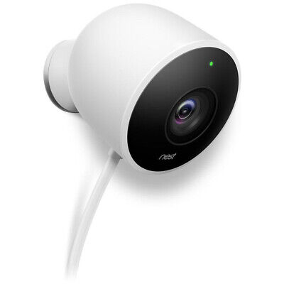 Google Nest Outdoor Security Camera - White - (NC2100ES)