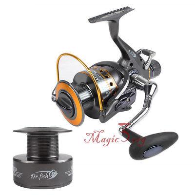 Baitfeeder Spinning Reel Fishing 11BB 3000 5.1:1 Saltwater Spare Spool Bass (New Spare Spool Fishing Reel)
